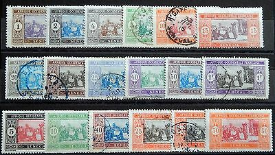 Senegal French Lot VI MNH ** / MH * / used