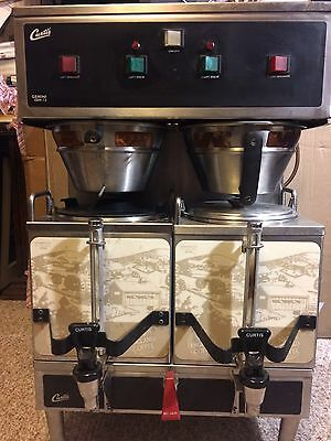 Curtis Gemini System 12 GEM-12D-10 Dual Commercial Coffee Brewer Machine