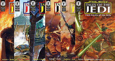 Star Wars Comic Set TALES OF THE JEDI DARK LORDS OF THE SITH Complete #1-6 TOTJ