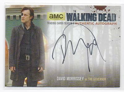 2016 The Walking Dead Season 4 Part 1 Silver DM2 David Morrisey Governor Auto