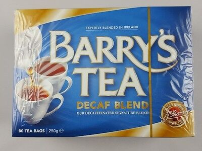 Barry`s Tea - Decaf Blend  - 80 Tea  Bags - Naturally Low In Calories