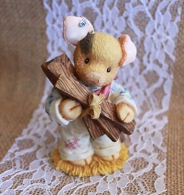 """1997 ENESCO TLP  """"I Would Build Something For Him""""  Barn Unto Us"""