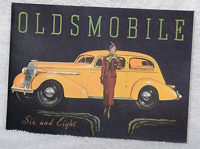 1935 Oldsmobile Six and Eight Car Brochure Sales Literature