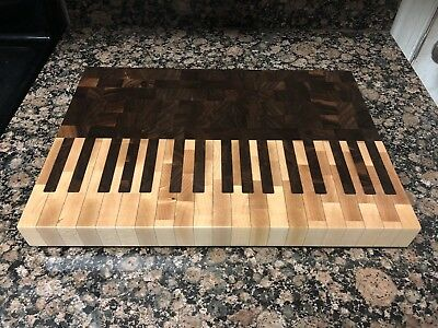 Piano end grain cutting board butcher block  Delta Wood Products