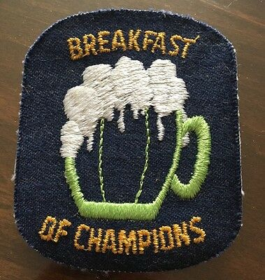 """Beer Patch """"Breakfast Of Champions"""""""