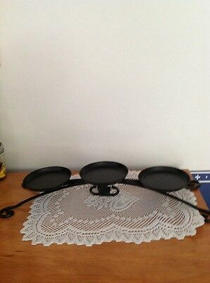 Longaberger Wrought Iron 3 Tier Candle Stand