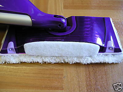 Two Swiffer Wetjet Refill Washable Microfiber Pads Int Usa Made Labor& Product