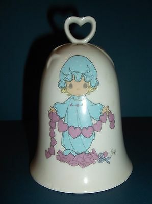 """1994 Precious Moments """"You Have Touched So Many Hearts"""" Bell Free Shipping"""