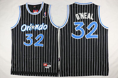 New Men's Orlando Magic #32 Shaquille O'Neal Basketball  Jersey Black