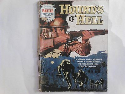 Battle Picture Library - No.132 - Hounds of Hell (1963)