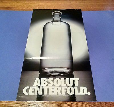 ABSOLUT Vodka 50 Advertisements Ads and 1989 CENTERFOLD Ad