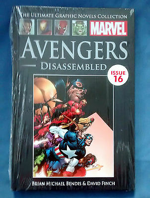 Marvel Ultimate Graphic Novels Collection Issue 16 - Avengers Disassembled