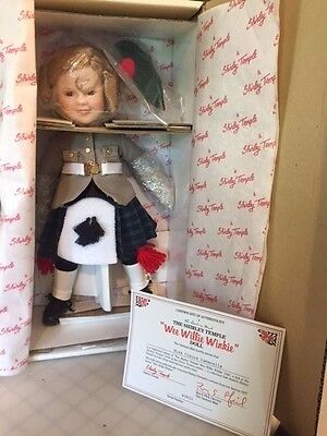 Shirley Temple Wee Willie Winkie 'Dolls of the Silver Screen' From Danbury Mint