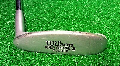 Vintage Original WILSON Tour Special II Forged Men's Golf Putter Right-Hand 35''