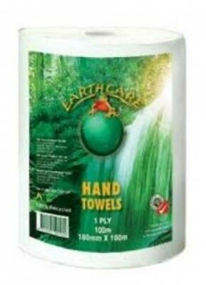 ABC 6-Echt100 Earthcare Roll Towel - Paper Towels with 18cm Width - 16 x 100m