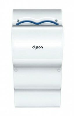 Dyson Airblade Reduced Noise Hand Dryer (DB AB14-W) - 10 Second Dry - White