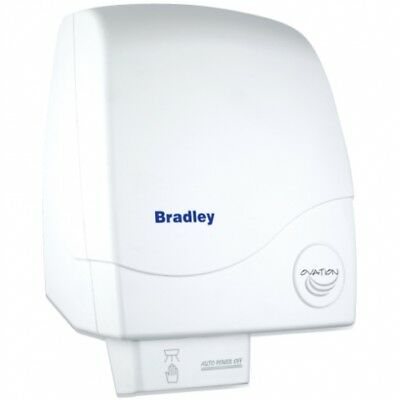 Bradley - Ovation 22-1900 - Wall Mount Hand Dryer with Touch Free Sensor - White
