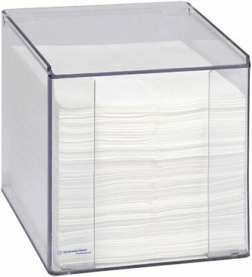 Kimberly Clark KCP94040 Wall-Mounted Wiper Dispenser from Clear Acrylic