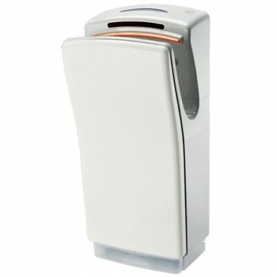 Bradley Airstream 4.0 220-700Aw Wall-Mounted Hand Dryer in ABS Plastic - White