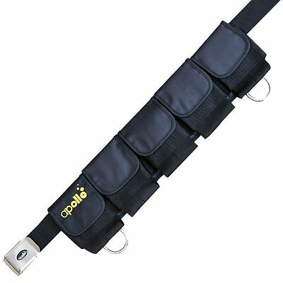 Apollo Comfo Pocket Weight Belt with S/S Buckle