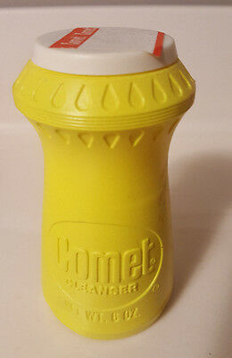 Rare Vintage Comet Cleanser 6 Oz  Yellow Made In USA New Sealed