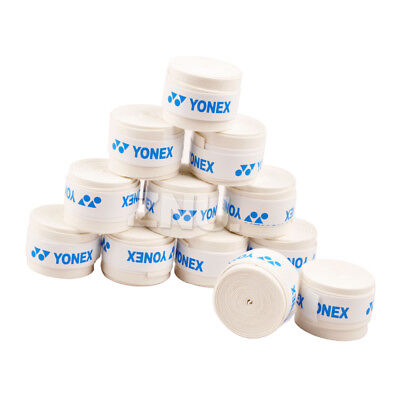 Lots White Absorb Sweat Stretchy Tennis Squash Racquet Band Grip Tape Overgrip