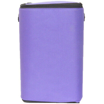 """Purple Brush Stop With Zippered Top-8""""X12""""X5"""" 40130"""
