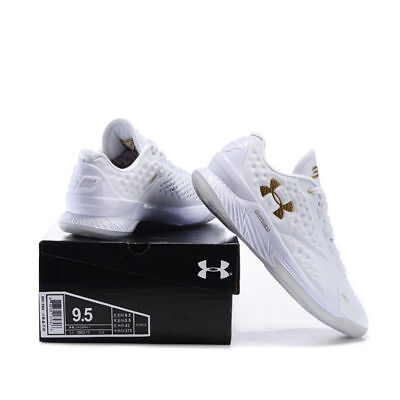 Fashion Sport Running Shoes Men's Under Armor Men's UA White Basketball Shoes UK