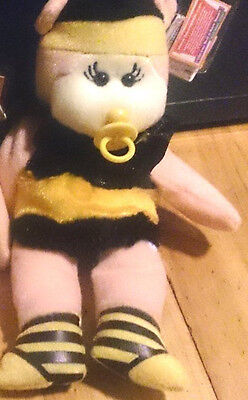 Beanie Kid - BK2-121 - Honey-Cakes the Baby Bee Bear Mutation