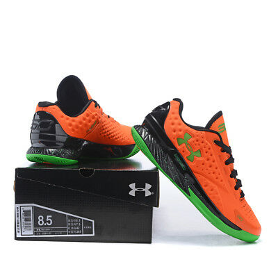 Fashion Sport Running Shoes Men's Under Armor Men's UA Orange Basketball Shoes