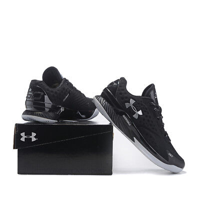 Fashion Sport Running Shoes Men's Under Armor Men's UA Black Basketball Shoes UK