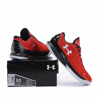 Fashion Sport Running Shoes Men's Under Armor Men's UA  Red Basketball Shoes UK