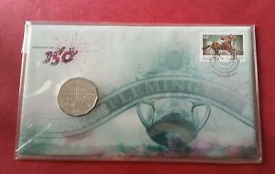 2010 150 Years Of The Melbourne Cup Our Race That Stops The Nation 50C Unc Pnc