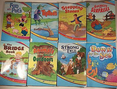 Lot of 10 A Beka Readers -- 1st, 2nd, and 3rd Grade