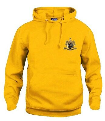 Retro Wolverhampton Wanderers Wolves 1940's Football Hoodie Embroidered Logo