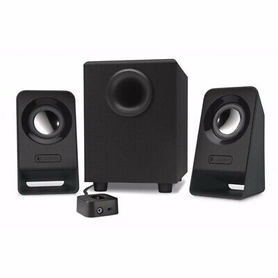 Logitech Z213 Compact Multimedia 2.1 Stereo PC Speakers Subwoofer Surround Bass