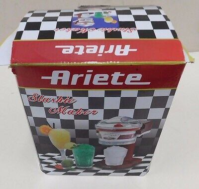 Ariete Slushy Maker - Slurpy Flavoured Crush Ice Maker