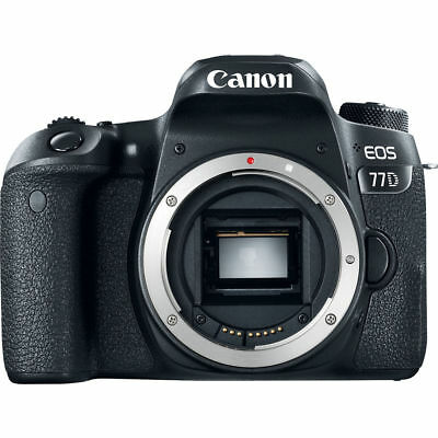 Brand New Canon EOS 77D Body + CANON EF-S 18-135MM F/3.5-5.6 IS USM Lens