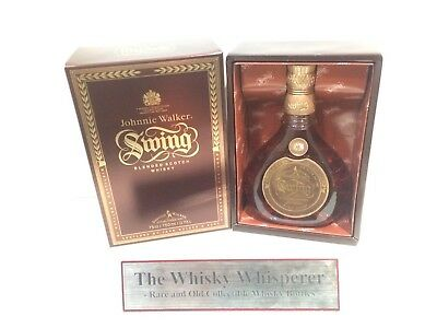 JOHNNIE WALKER 750ml Old Swing Scotch Whisky bottle In Coffin Box