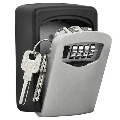 Outdoor Safe Security Storage Key Hidden Box Wall Mounted Combination KeyLock