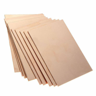 10pcs PCB One-Side Single Side Copper Clad Plate Circuit Board 70x100x1.5mm