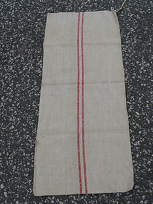 Q3220  Leinensack / Getreidesack um 1940 - old grain bag - SACK LEINEN - TOP