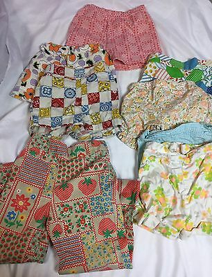 vintage 70'S 80'S girls shorts pants Health tex LOT Size 3-5