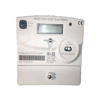 Ampy 5254E Multi Rate – Single Phase Electric Meter