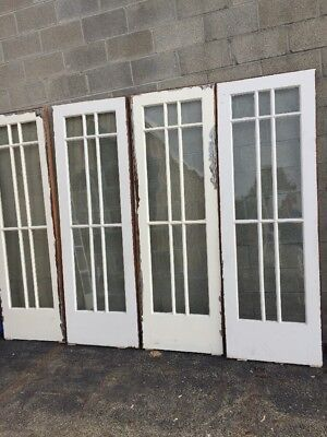 Cm 209 2Available Price Separate Antique Sliding Door Sidelight 27 1/2 X 84