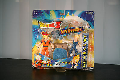 Dragonball Z  2-Packs action figure SS GOKU & SS VEGETA by (2003 Jakks Pacific)