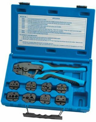 S & G TOOL AID Master Ratcheting Terminal Crimper Set TA18980