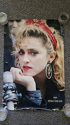 Lot of 10 1985 Madonna Desperately Seeking Susan Movie Posters