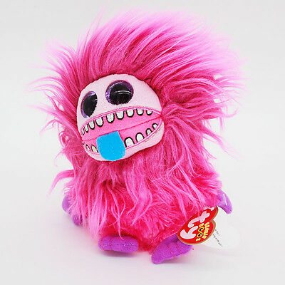 "6"" Ty Beanie Boos Pink ZeeZee Baby Plush Stuffed Animals Soft Kids Toys ONL"