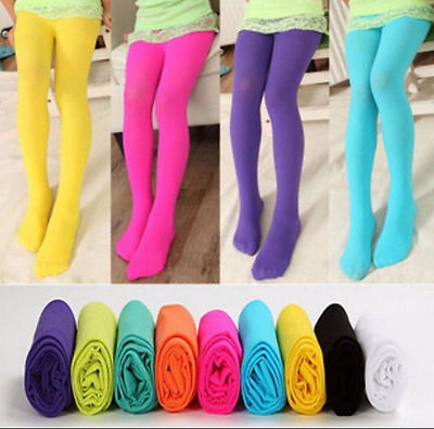 Cute Girls Baby Kids Toddlers Cotton Pantyhose Pants Stockings Socks Hose Ballet